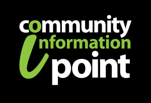 Community Information Point Logo (Black)