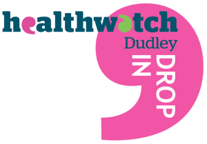 Healthwatch Dudley Drop-in logo