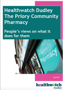 Priory Pharmacy Report Cover