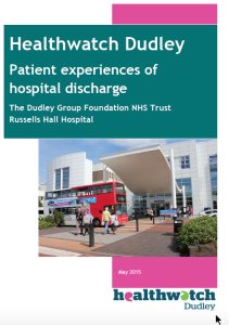 Patient Experience of Hospital Discharge Cover